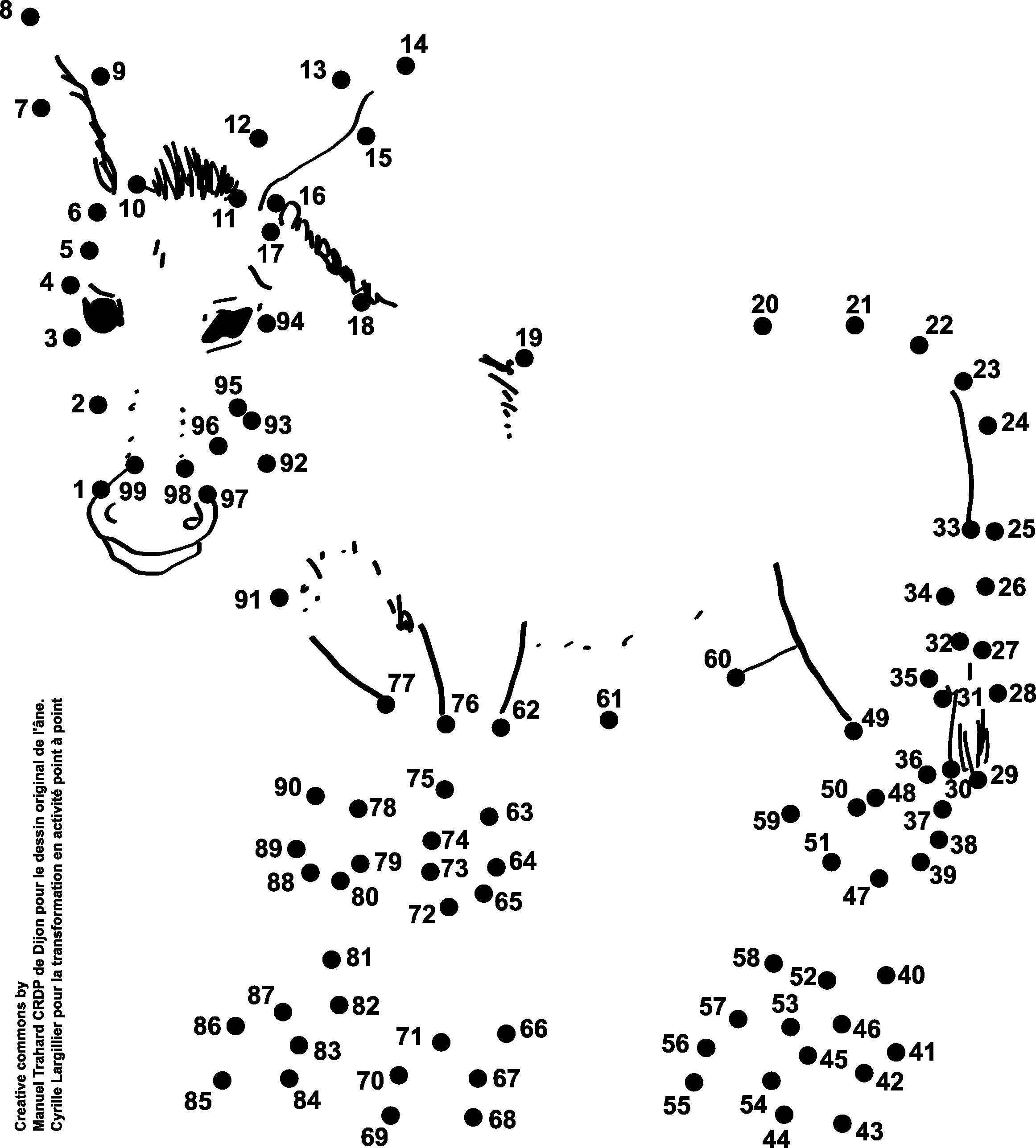 7 dessins point point pour la num ration de la gs au ce1 - Dessin point a point ...